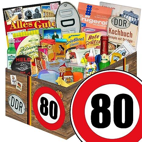 Geschenk Idee 24x Allerlei Geburtstag 80 Ostalgie Set