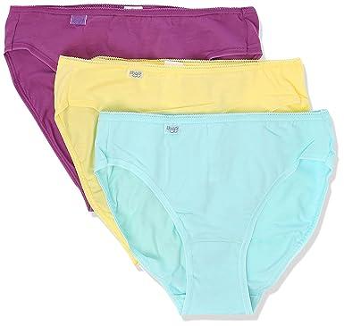 7cdc8c12dcaa Sloggi Women's 24/7 Cotton Tai Brief (Pack of 3), Yellow (