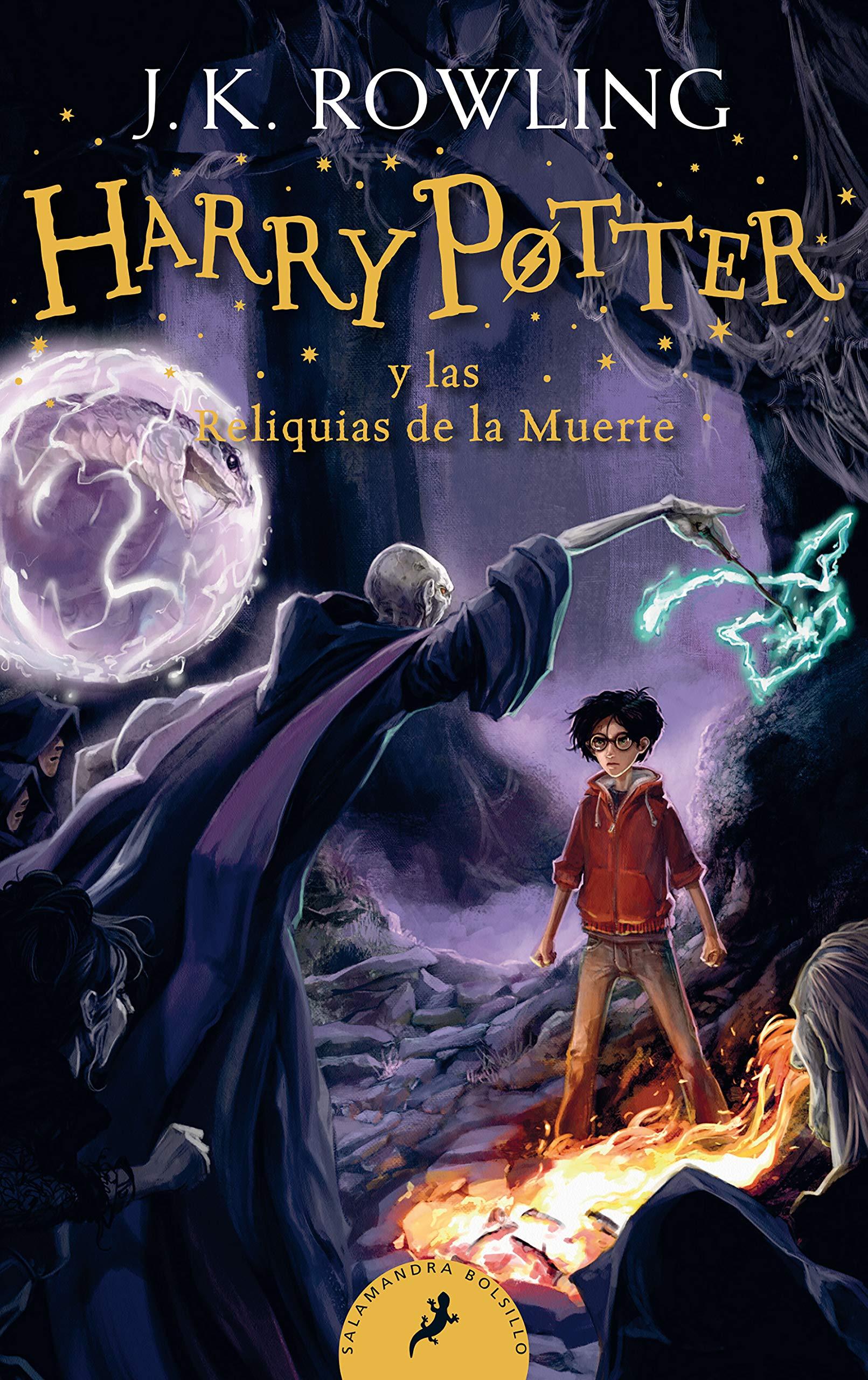 Harry Potter Y Las Reliquias De La Muerte Harry Potter And The Deathly Hallows Spanish Edition Rowling J K 9781644732137 Books