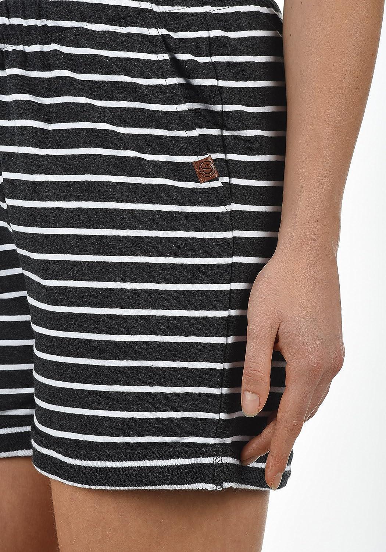 a1da93a49da Desires Lena Short en Sweat Bermuda Pantalon Court pour Femme Extensible  Coupe Relaxed  Amazon.fr  Vêtements et accessoires