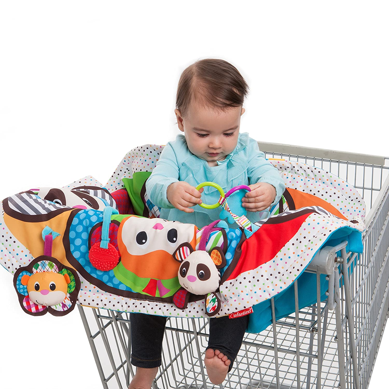 Amazon Infantino Play and Away Cart Cover and Play Mat Baby