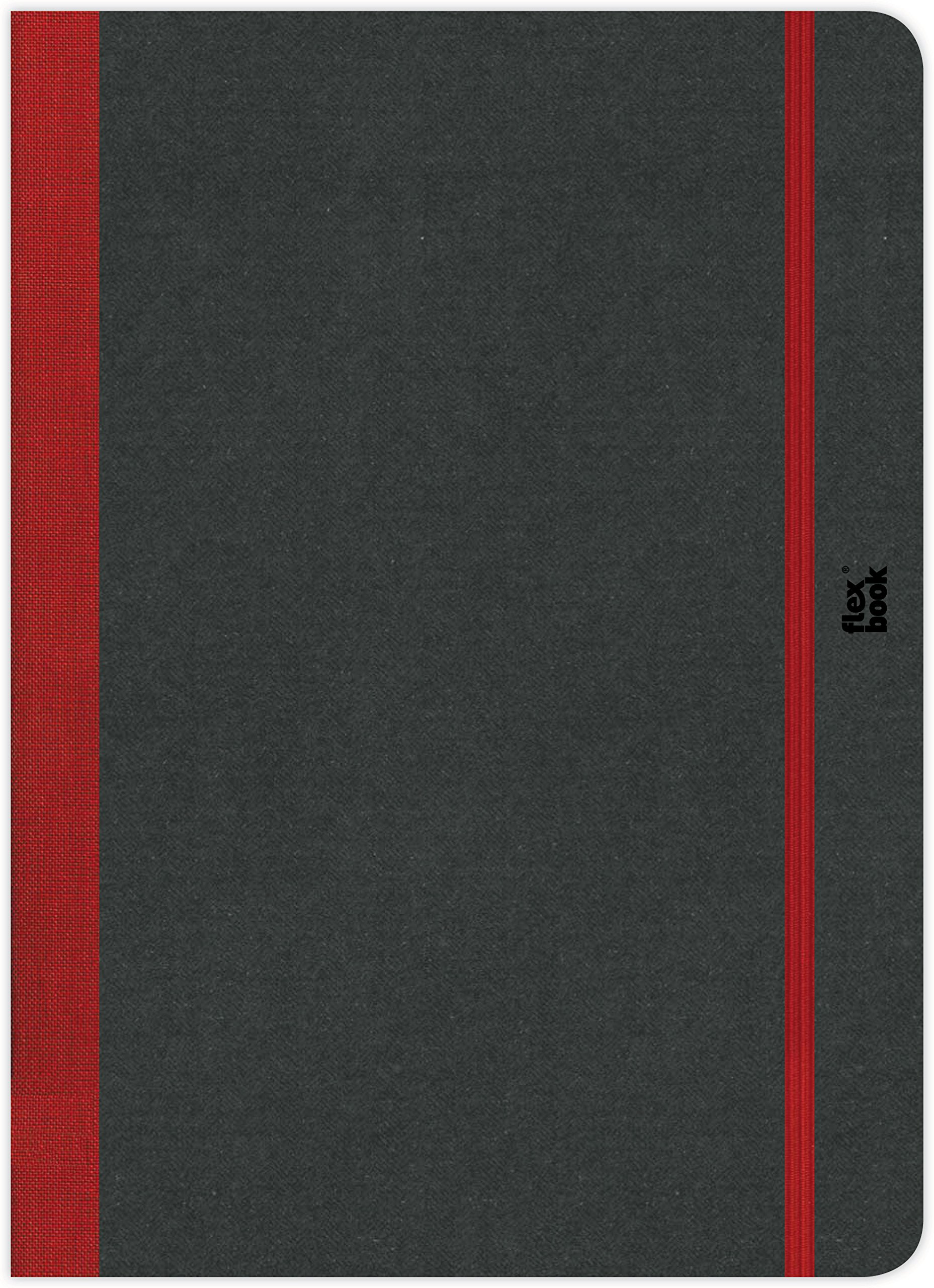 Flexbook Sketchbook, Munken Special White Paper, 8.5 X 12.25 inches, 80 Sheets, 170 GMS, Red (60.00027) by Flexbook