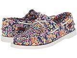 Sebago Women's Dockside Tatum Print Sneaker 9.5 M