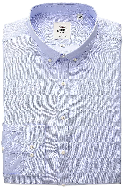 Amazon Ben Sherman Mens Slim Fit Oxford Button Down Collar