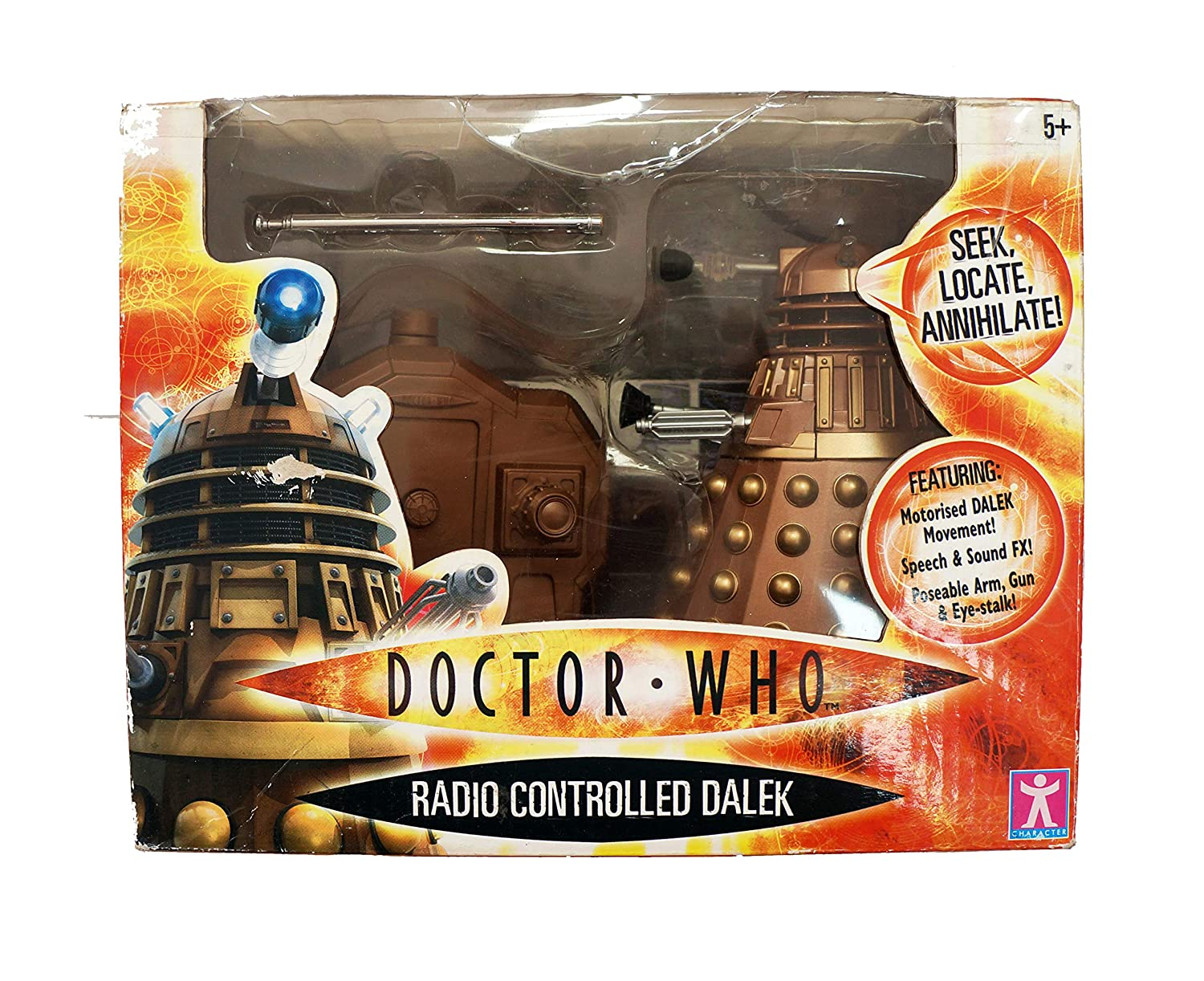 Character Options  Radio Control Dalek With Sound 5  Tall ( Colours Vary )
