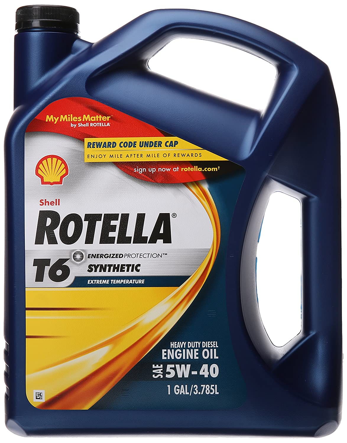 Shell Rotella T6 Full Synthetic Heavy Duty Engine Oil