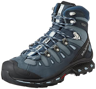 84640f8a0d0e Salomon Women s Quest 4D 2 GTX W Backpacking Boot Deep Stone Blue Light  Onix