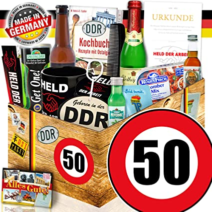 Mannergeschenke Ddr Ddr Manner Geschenkbox Geburtstag 50