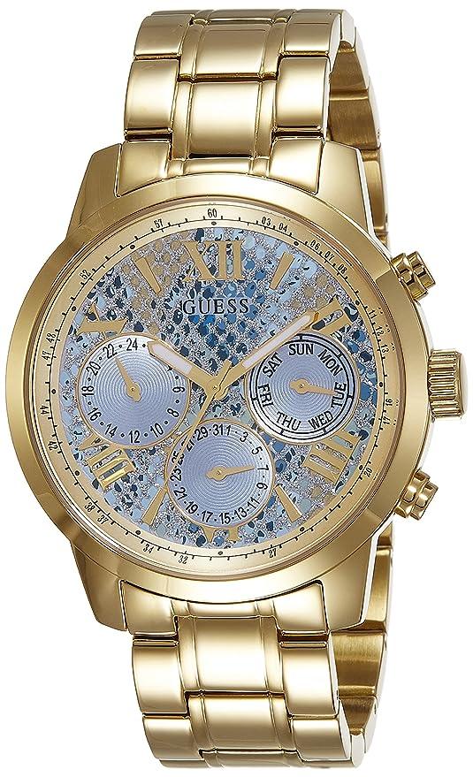 Guess Analog Blue Dial Women's Watch - W0330L13 Women at amazon