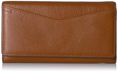 Fossil Caroline Continental Flap Wallet Brown Wallet