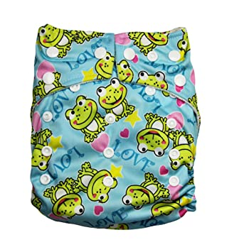 Amazon Com Kawaii Baby One Size Organic Bamboo Terry Cloth Diaper