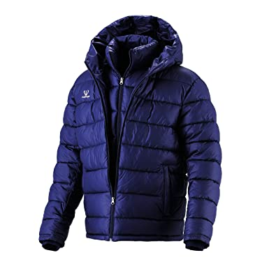 Fuerza Mens Winter Down Wellon Collection Hooded Double Layer ...
