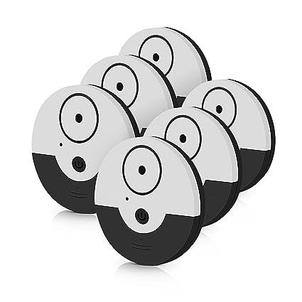tritace Ventana Alarma con Vibración Sensores Juego | 130 dB Volumen | Mini alarma – Detector de rotura de vidrio – Alarma de rotura para ventanas, ...