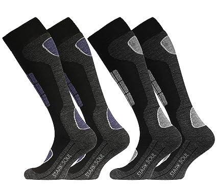 255c6ae88dda VCA 2 Paar Original SKI Funktionssocken, Wintersport Socken mit Spezial  Polsterung  Amazon.de  Bekleidung