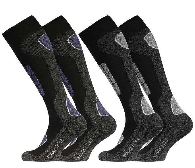 2 pares Original VCA Función Esquí Calcetines, Calcetines Deportivos de invierno con especial acolchado: Amazon.es: Ropa y accesorios
