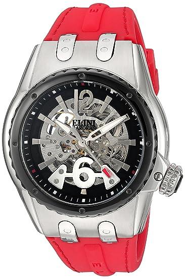 Reloj - Elini Barokas - para Hombre - ELINI-20026-01-BB-RDS: Amazon.es: Relojes