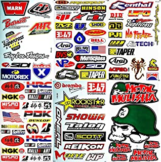 Amazoncom Dirt Bike Motorcycles Supercross Motocross ATV Lot - Vinyl stickers for bikes