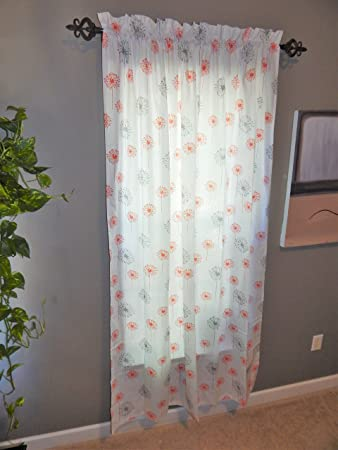 Gray Living Dining Room Curtains