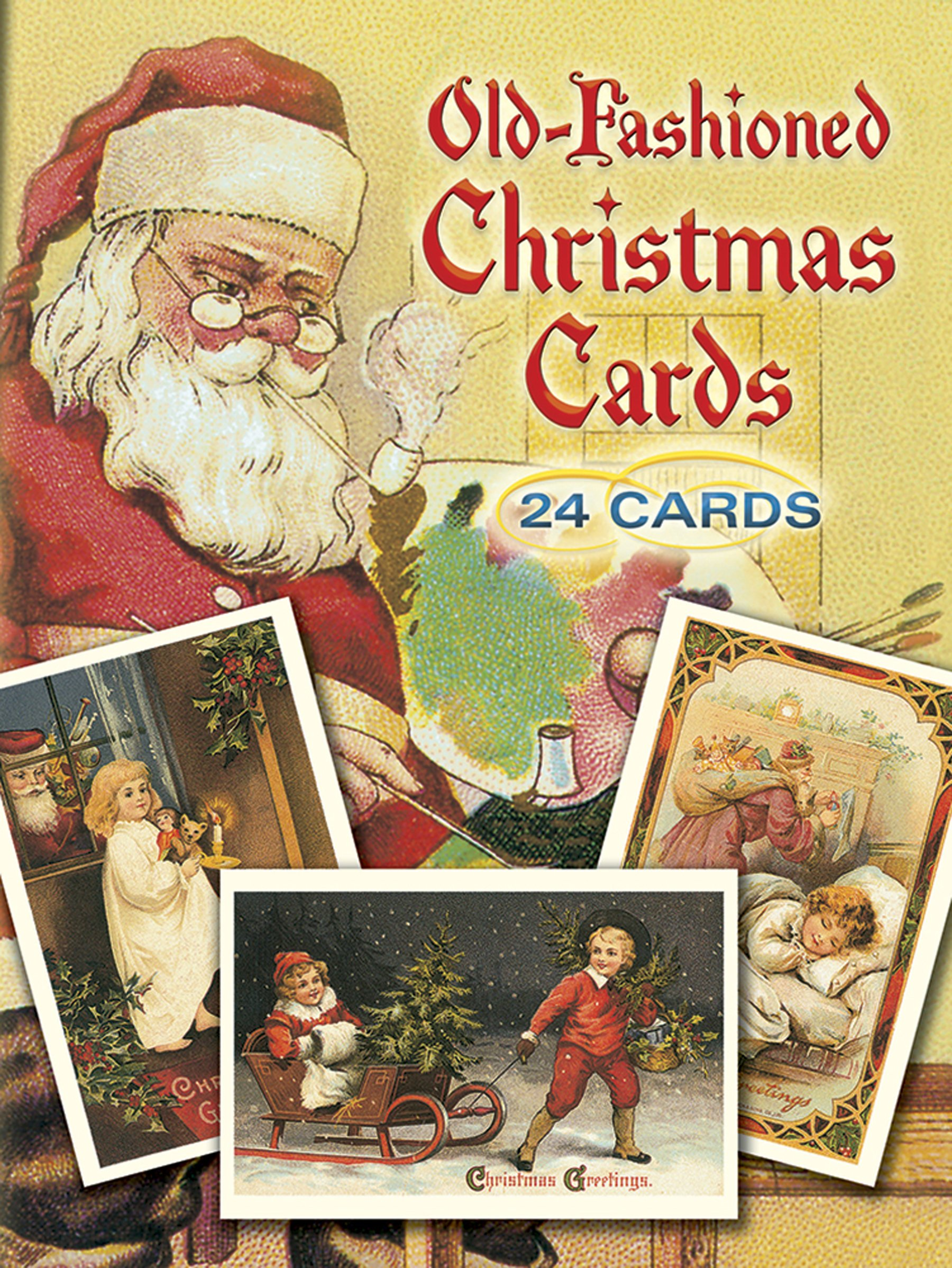 Old-Fashioned Christmas Postcards: 24 Postcards: Gabriella Oldham ...
