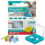 Alpine Pluggies Kids 2015 Protection Auditive pour Enfants + Gratuit Autocollants