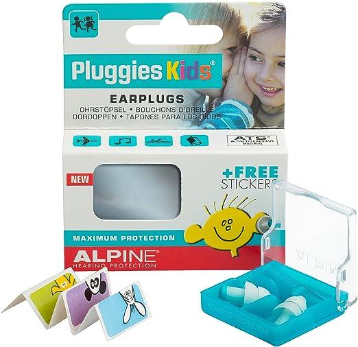 6 opinioni per Alpine Pluggies Kids 2015 Tappi per Orecchie per Bambini