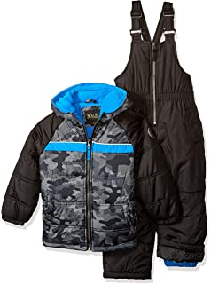83fd06fc1 Amazon.com  iXtreme Boys  Insulated Two-Piece Snowsuits  Clothing