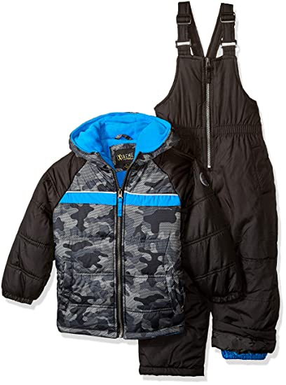 d378a1c5b7 Amazon.com  iXtreme Boys  Little Active Colorblock Snowsuit