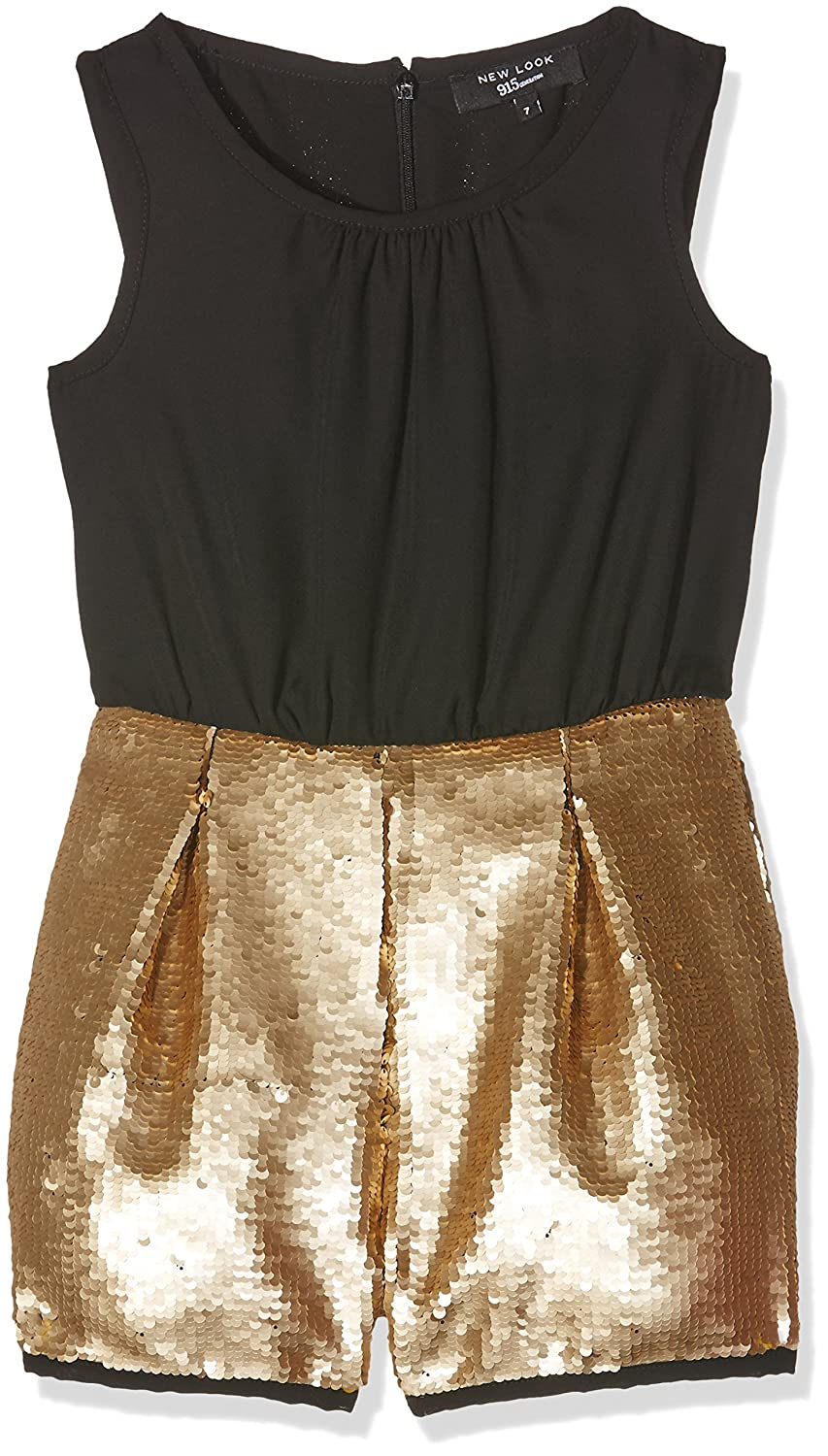 f68dfc562c New Look 915 Girl s 2 in 1 Sequin Playsuit Dresses