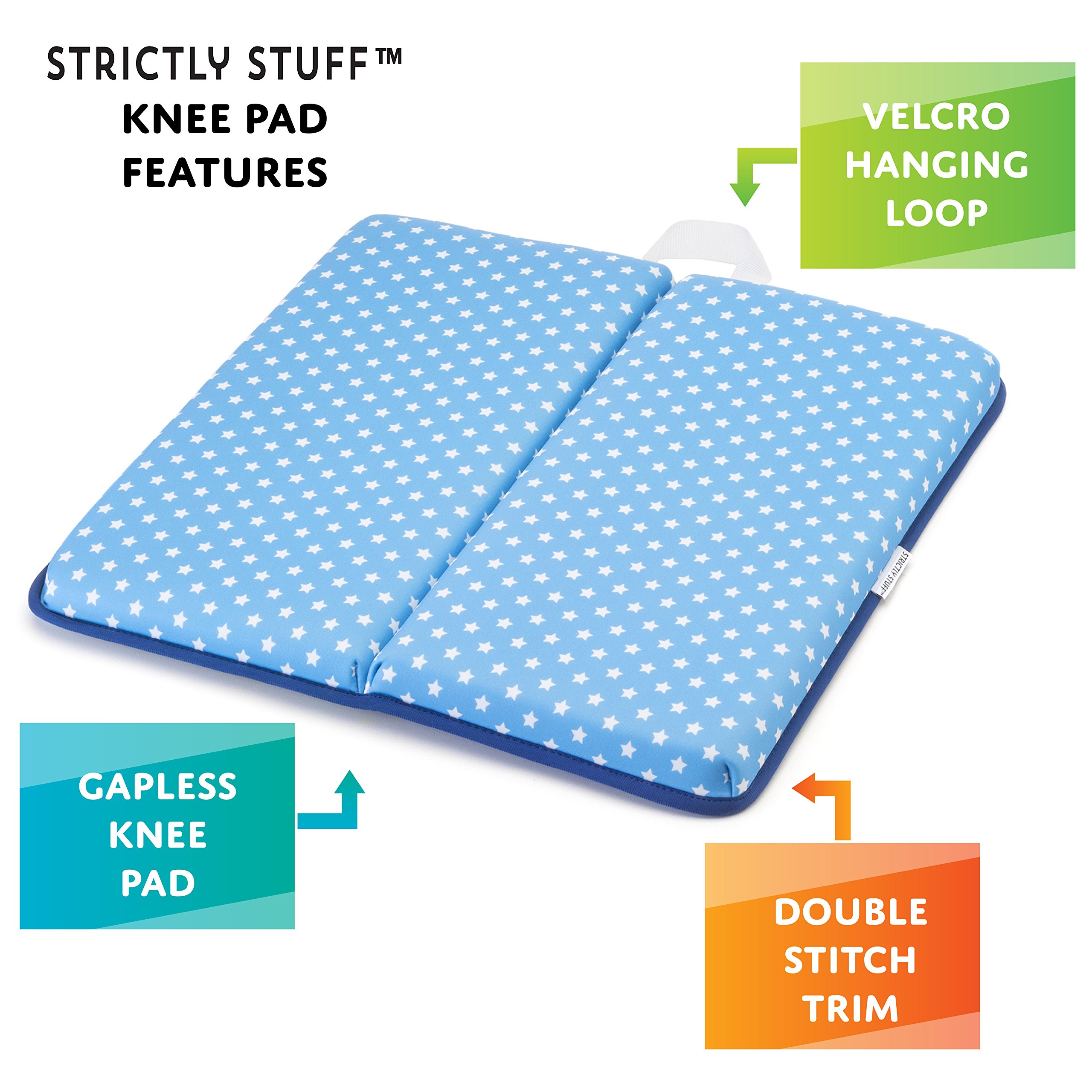 Strictly Stuff Baby Bath Kneeler and Elbow Pad (Pink). Thick, Soft Knee Padding. Durable Neoprene Material and Design. Non-Slip Backing with Suction Cups. Fits All tubs. Three Great Color Patterns. by Strictly Stuff (Image #7)