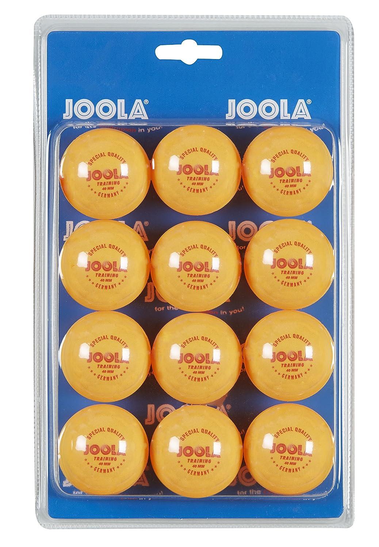 Joola Training 40mm Table Tennis Balls (Pack of 12) Joola Ball Training 40-12er options St Orange 68724200