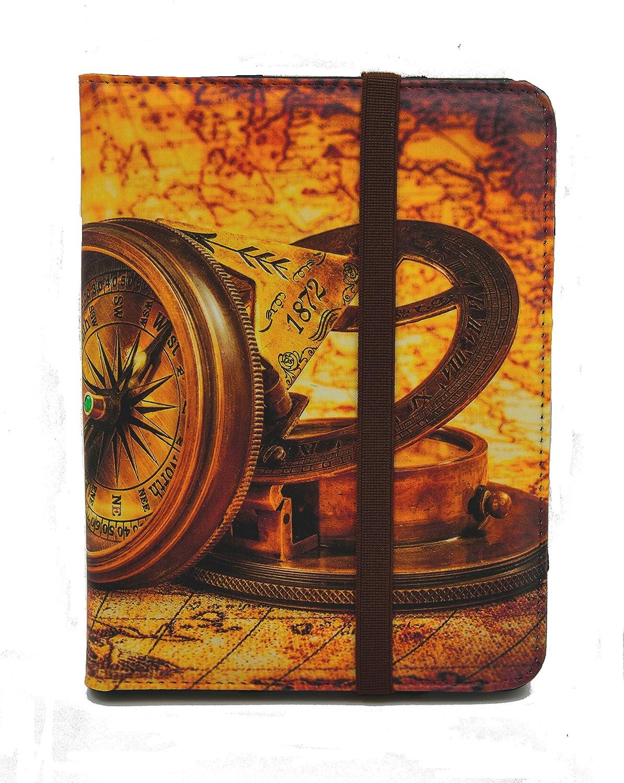 BQ Wolder Funda para Libro electr/ónico eReader eBook de 6 Pulgadas 6 Universal Nolim 6, 88 Sony Tagus Estampados Energy Papyre Woxter SPC Inves