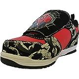 Disney Toddler Boy's Spider-Man Red/Black Light-Up Athletic Shoe