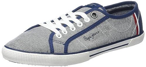 Pepe Jeans Aberman Court, Zapatillas para Hombre: Amazon.es: Zapatos y complementos