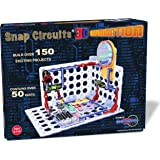 Snap Circuits 3D Illumination Electronics Exploration Kit | Over 150 STEM Projects | 4-Color Project Manual | 50+ Snap Modules | Unlimited Fun