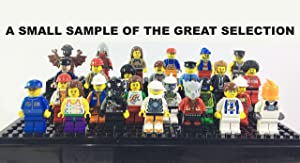 Characters Mix Six (6) MINIFIGURES Bulk Lot