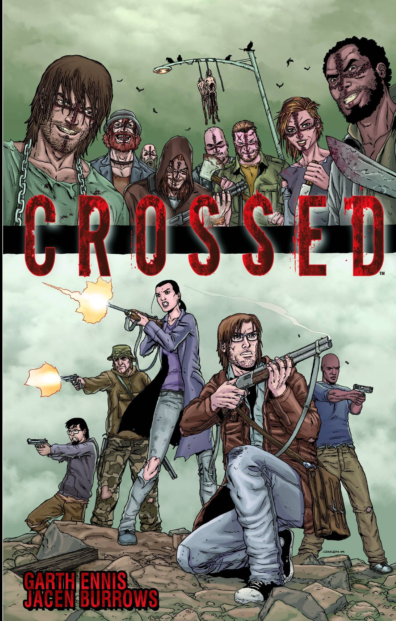 crossed vol 1 garth ennis jacen burrows 8601404404801 amazon