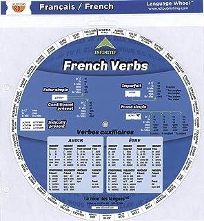 French Verb Wheel Verbes Irreguliers Francais Stephane Derone