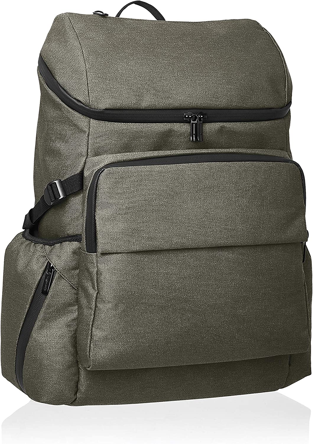 AmazonBasics Urban Backpack for Laptops up to 15-Inches - Green