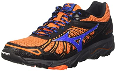 Herren Wave Mujin 3 Traillaufschuhe, Orange (Clownfish/Strong Blue/Dark Shadow), 46 EU Mizuno