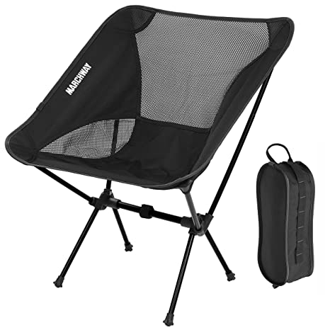 MARCHWAY Ultralight Folding Camping Chair, Portable Compact For Outdoor  Camp, Travel, Beach,