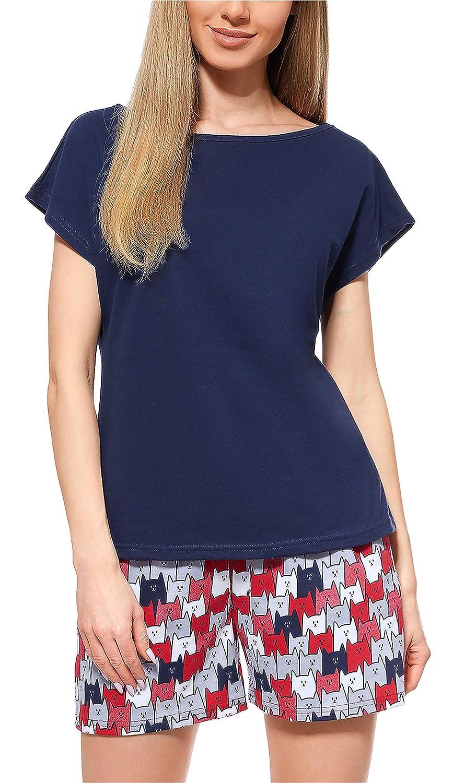 Merry Style Pijama Conjunto Camiseta y Pantalones Mujer MS10-178
