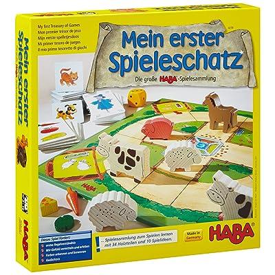 Haba Mi primer tesoro de juegos La gran colección de juegos de HABA (en alemán): Juguetes y juegos