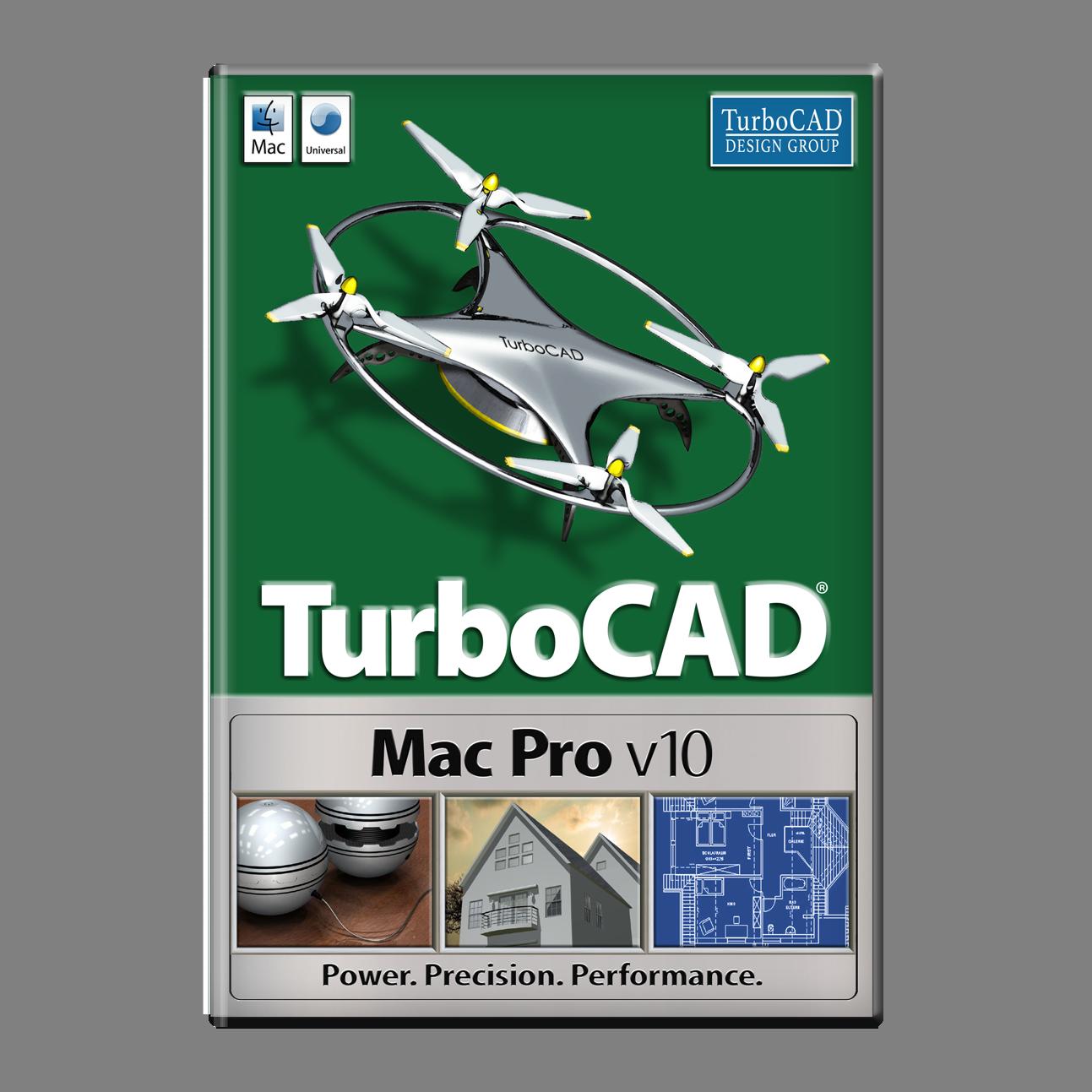 Software : TurboCAD Mac Pro v10 [Download]