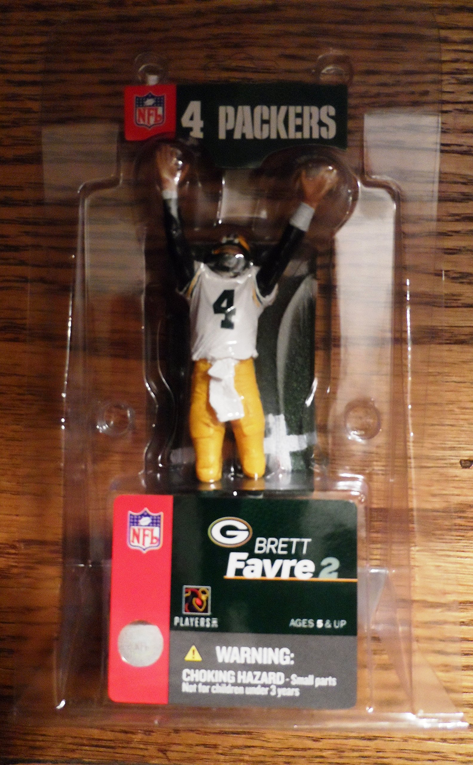 2004 Mcfarlane Bret Favre Green Bay Packers 3 Inch Action Figure