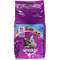 Whiskas 1+ Dry Cat Food with Tuna, 2kg