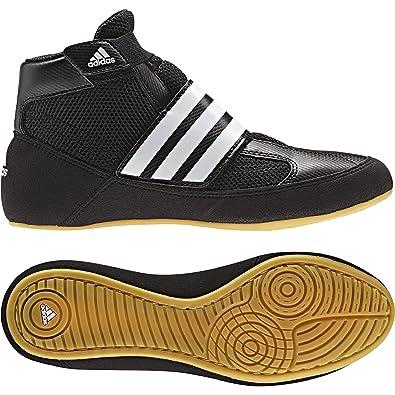 huge discount 48935 cf7b9 Adidas Verwüstung Kinder Klettverschluss Boxing Stiefel - schwarz weiß