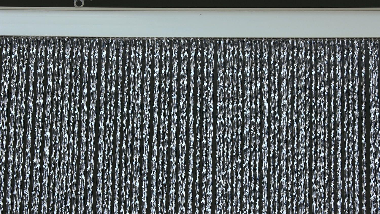 PVC-Türvorhänge Modell Roma – Aluminiumträger - Made in  - Größe 138X220 - Transparent (2) - Fliegenvorhang