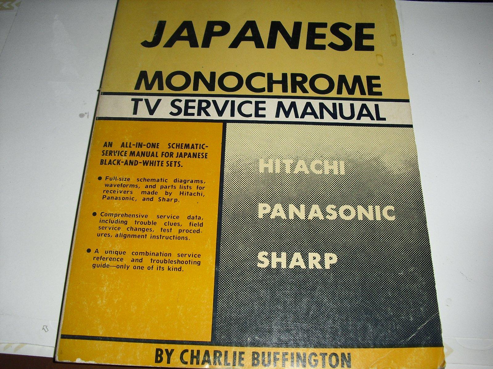 Japanese Monochrome Television: Hitachi, Panasonic, Sharp: G/L Tab Books  (Firm): 9780830626021: Amazon.com: Books