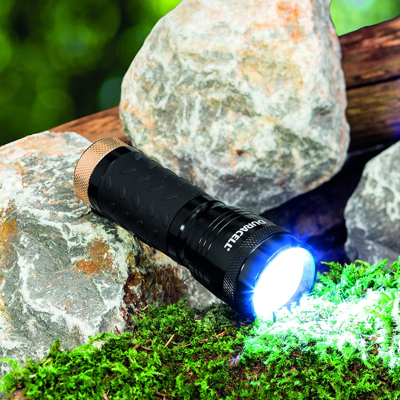 s Linterna de mano, Negro, 14 l/ámpara , LED, AAA Linterna Duracell CMP-5