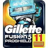 Gillette Fusion Proshield Chill Cuchillas de Afeitar para Hombre - 11 unidades